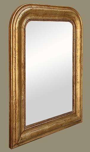 miroir d coration bois dor poque louis philippe. Black Bedroom Furniture Sets. Home Design Ideas