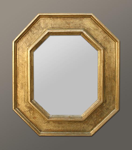 Miroir Decoration Octogonal Style Renaissance