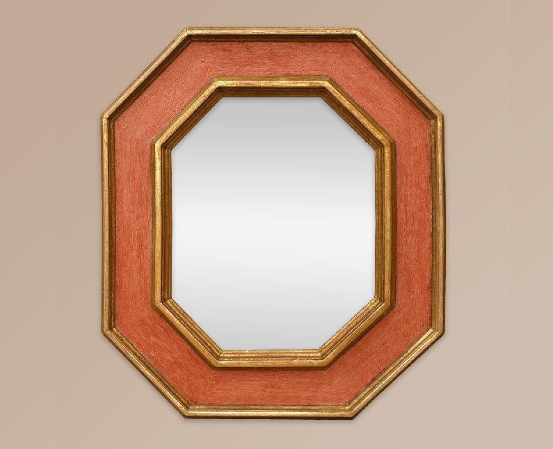 Miroir d co cassetta octogonale for Miroir octogonal