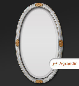 miroir d coration miroir d comiroir ovale dorure argent miroir d coration miroir d co. Black Bedroom Furniture Sets. Home Design Ideas